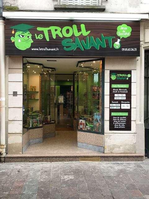Enseigne Le Troll Savant 94