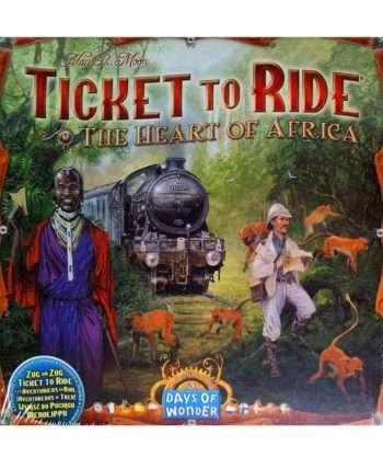 Aventuriers du Rail (Les) : Afrique (Extension)