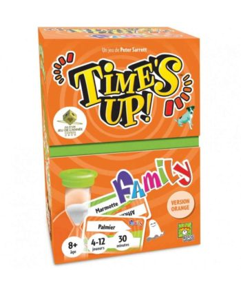 Time's Up Family 2 Orange