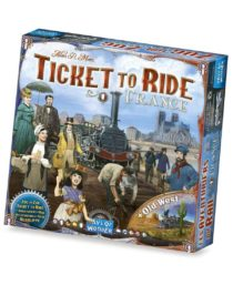 Aventuriers du Rail (Les) : France & Old West (Extension)