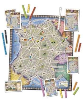Aventuriers du Rail(Les) : France & Old West (Extension)