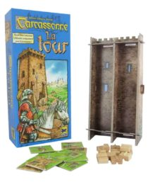 Carcassonne : La Tour (Nouveau Design – Extension)