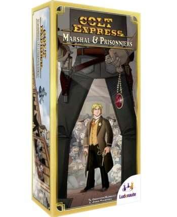 Colt Express : Marshal et Prisonnier (Extension)