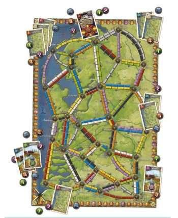 Aventuriers du Rail (Les) : Pays-Bas (Extension)