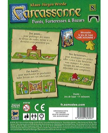 Carcassonne : Bazars. ponts & forteresses (Extension)