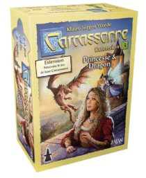 Carcassonne : Princesse et Dragon (Nouveau Design – Extension)