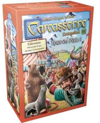 Carcassonne : Tous en Piste (Nouveau Design – Extension)