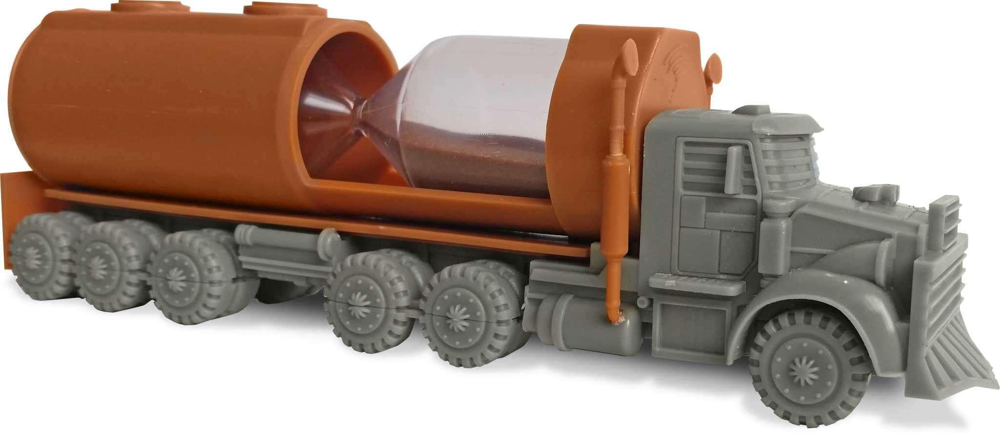 Kero : un camion-sablier risque d'exploser !