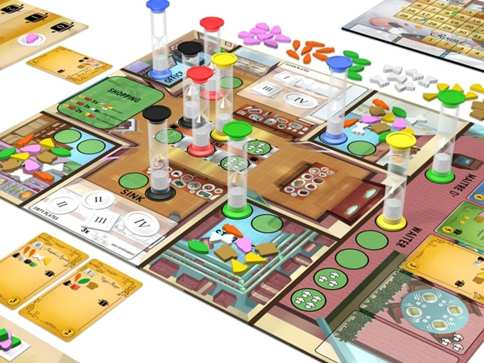 Kitchen Rush, le jeu
